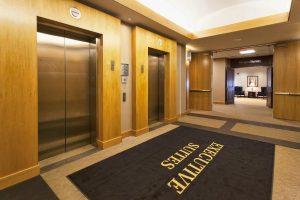 Duluth Technology Village Executive Suites Elevator area